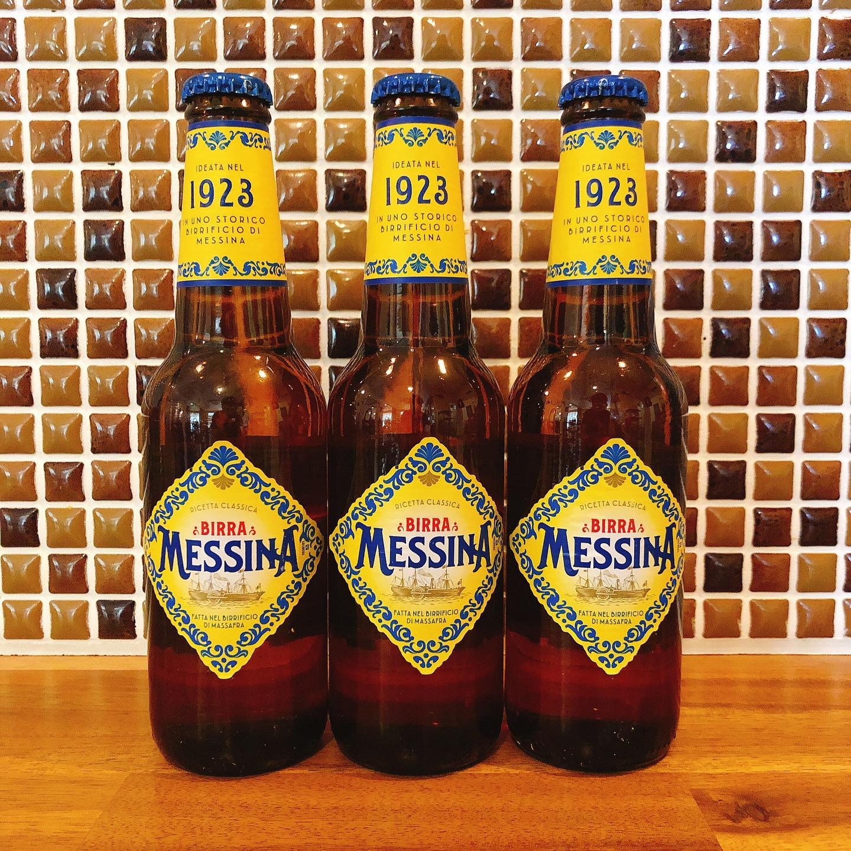 シチリアビールメッシーナ入荷しました さっぱりと飲めるので苦いのが苦手な人にもオススメです。  暑い日の乾杯ビールに最高です  #シチリアビール  #肉の盛り合わせ  #群馬  #イタリア料理